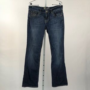 Kut from the Kloth Straight Leg Jeans, Size 6